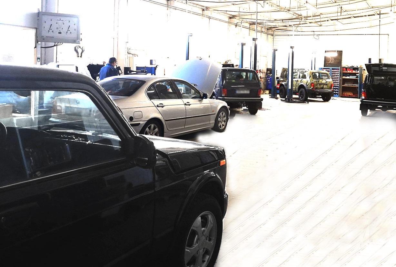 Auto Kur Station Werkstatt